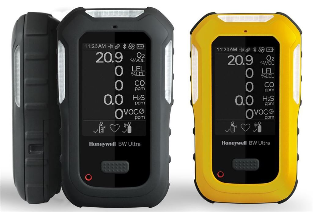 Honeywell BW Ultra (O2, %LEL, H2S, CO, VOCs) s pumpou